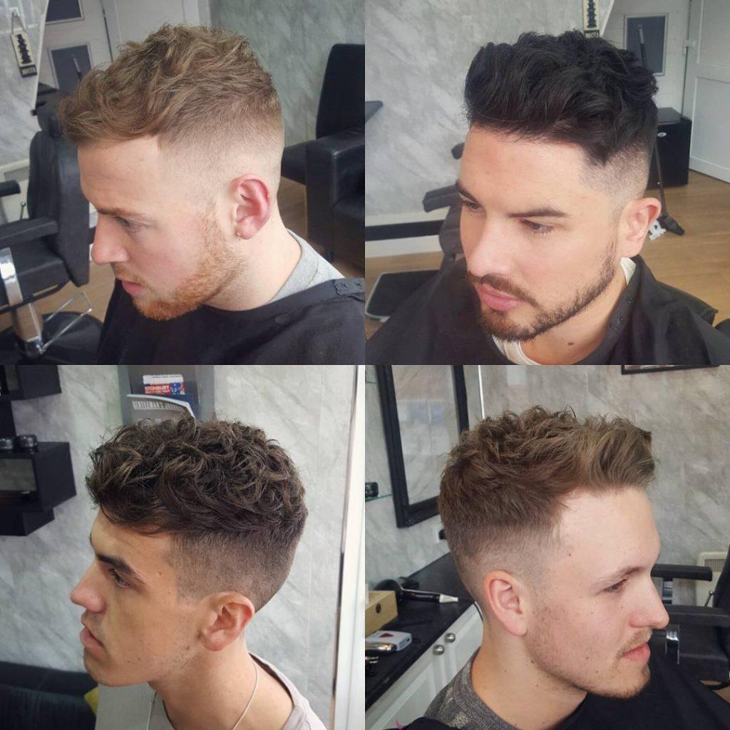 #32: Curly Wavy Skin Fade Hair