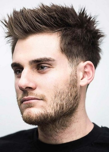 Spiky Hairstyle with Lift