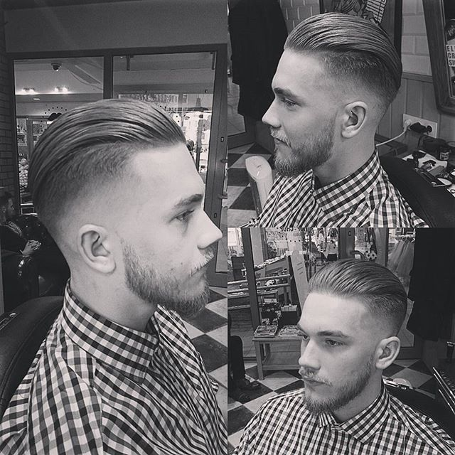 Slick Back with Undercut