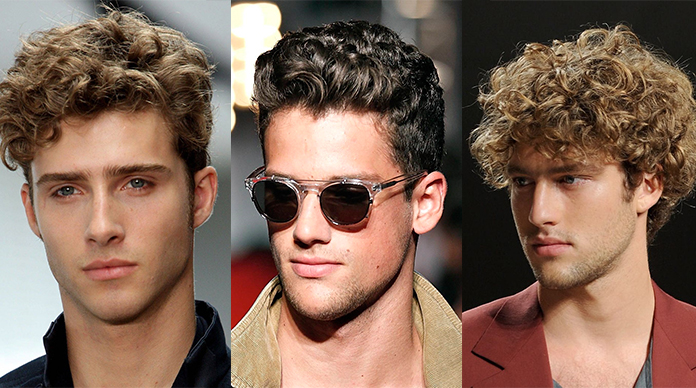 The Traditional Style Curly Quiff