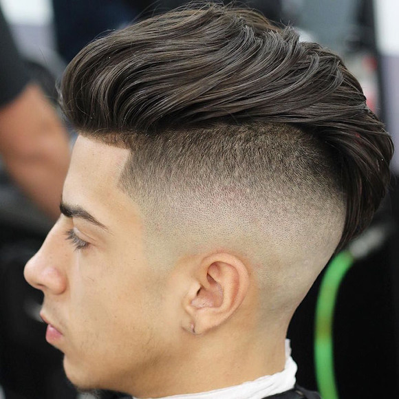 Low high top fade with undercut