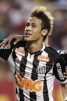 The Blonde Faux Hawk if Neymar