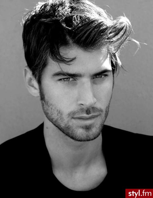The Definition Hairstyle with Beard