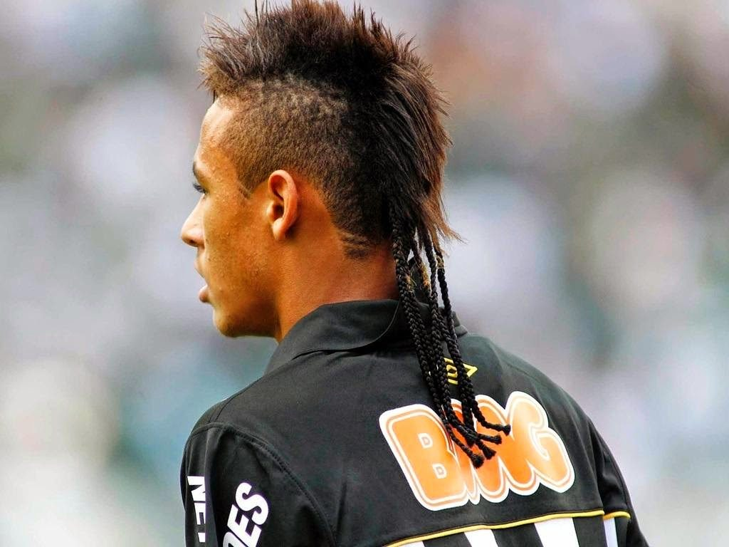 Braided Ponytail Neymar Hairstyle