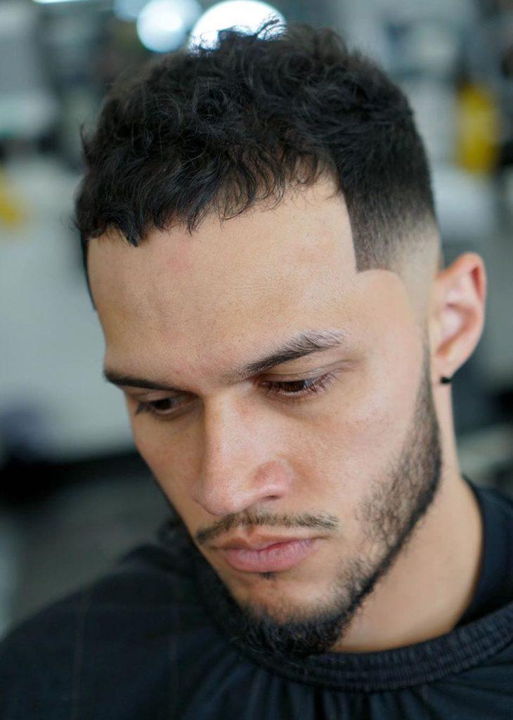 The Caesar Cut Short Haircut