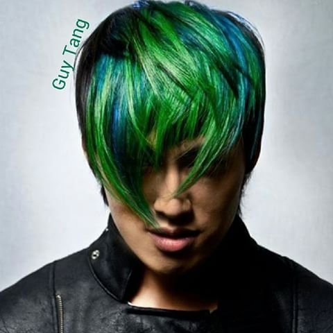 Green Hairstyle is for those who want to go green