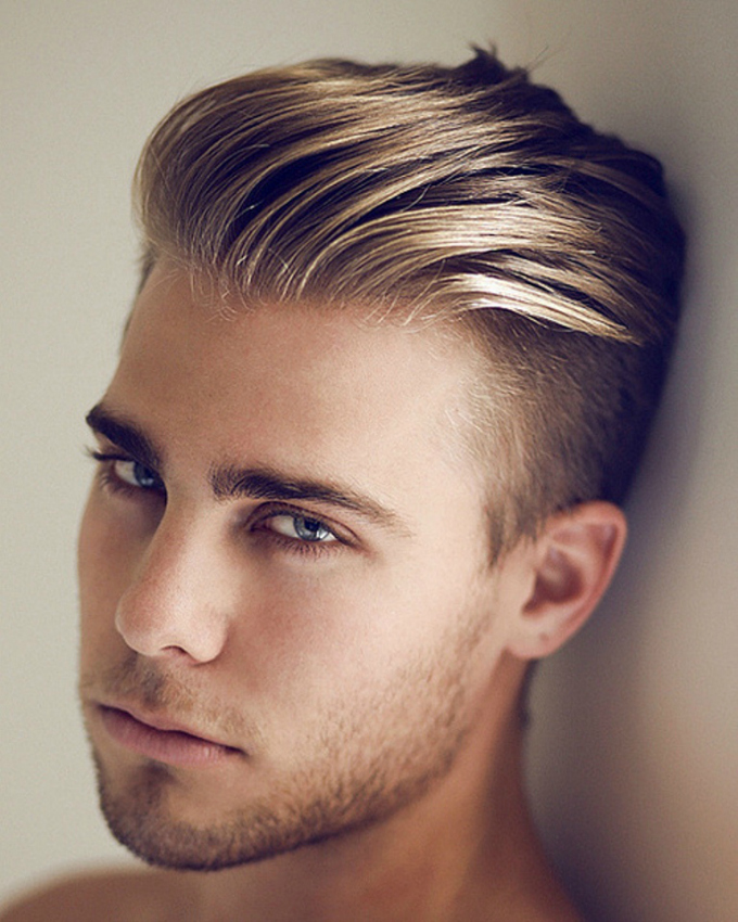 Captivating Blond With Undercut