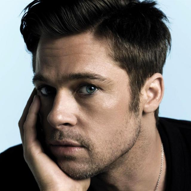 Brad Pitt style undercut