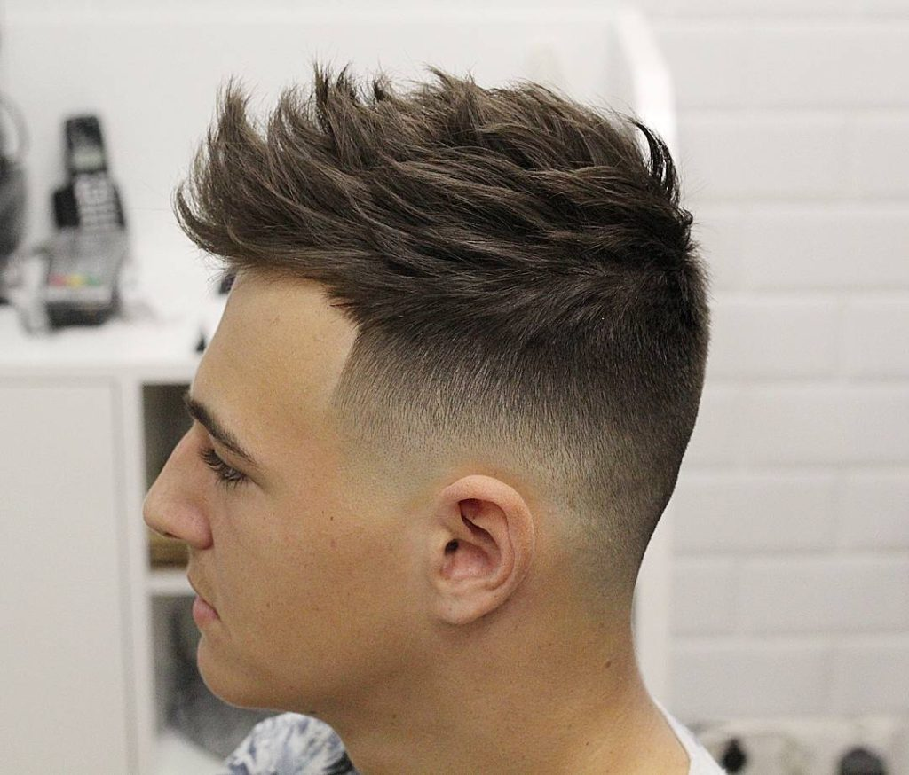 Types Of Fade Haircuts Man 2017 Best