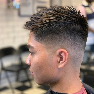 Mid and a high fade