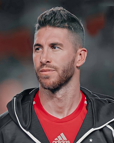 Sergio Ramos' mid fade