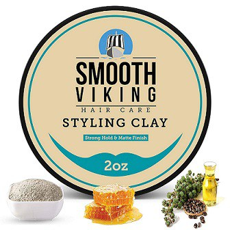 Smooth Viking Clay Pomade