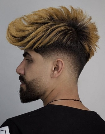 The Celebrity Mohawk Hairstyle