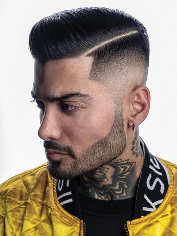 The Messy Comb Over to Make You look the Best