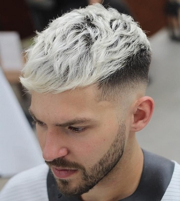 The Neutral Dark Blonde Hairstyle for Guys