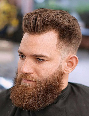The Regulation Short Haircut for Receding Hair