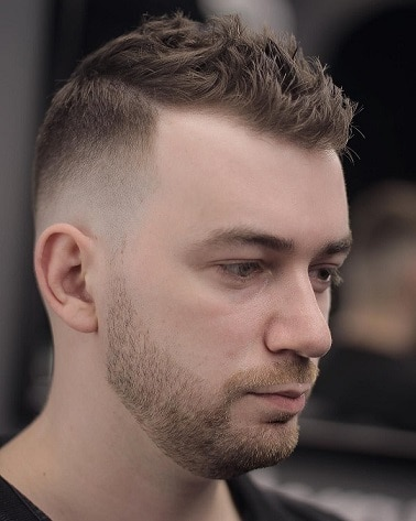 The Short and Spiky Hairstyle for Receding Hairline