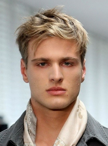 The light brown cool hairstyle for men
