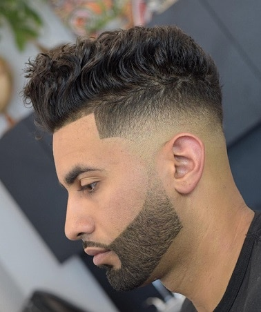 Wavy with Low Fade