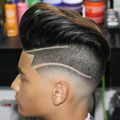 15 Best Drop Fade Haircut How To Get Drop Fade Haircut Atoz