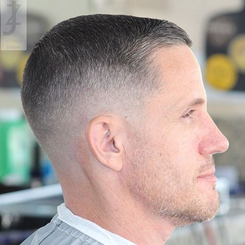 Crew Cut Hairstyles For Men 16