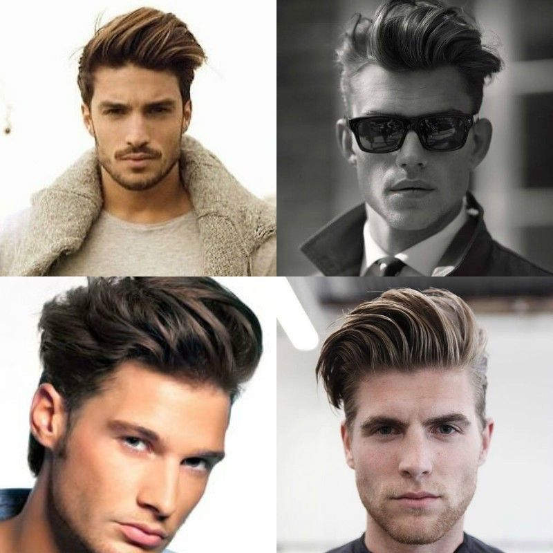 Comb fade over for long hair