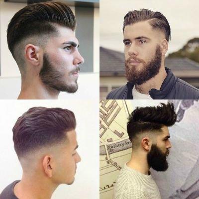 Sexy medium comb fade over