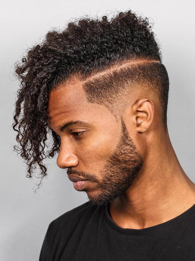 Drop Fade Waves Haircut With Part 97