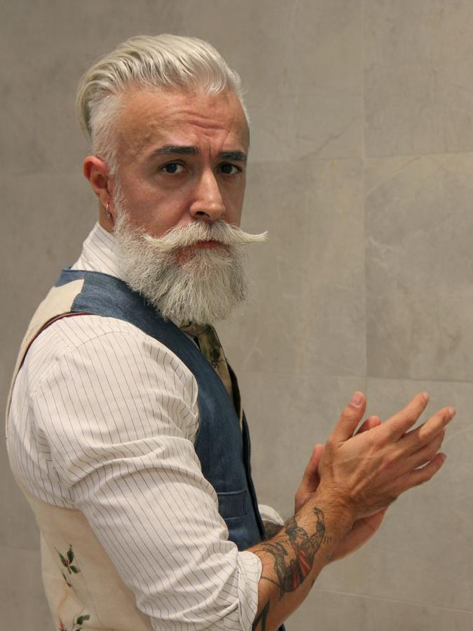 15 Ideas About Hot Silver Foxes - Grey Haired Men - AtoZ Hairstyles
