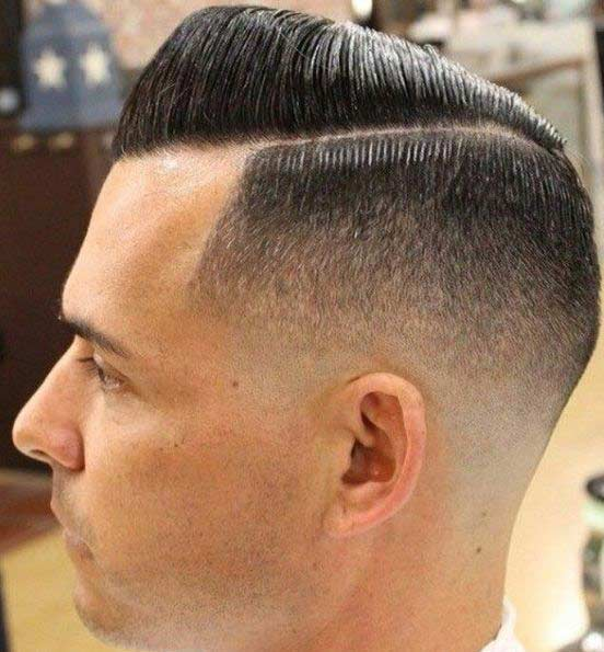 20 Best Comb Over Fade Haircut  How to Ask Barber And How - 30S Hairstyles