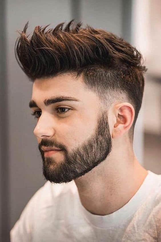 Spiky Men's Haircuts