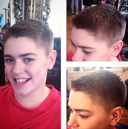 The Traditional Brush Cut