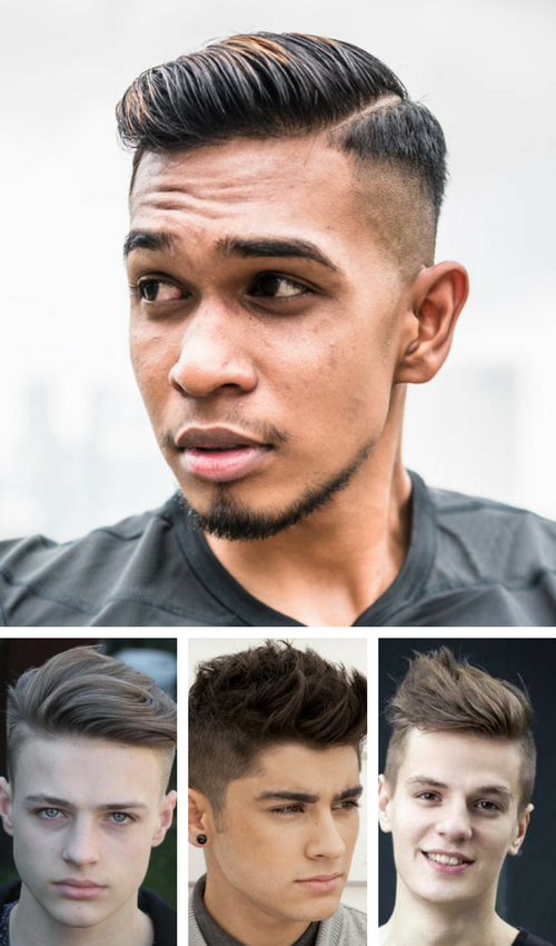 The undercut. young kids always choose for them just because it's that cute. It is a great hairstyle for older guys as well.