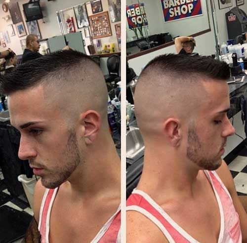 The high and tight flat line cut