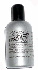 Silver Hair Colour by Mehron