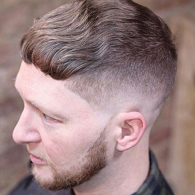 Classic fade with fringe