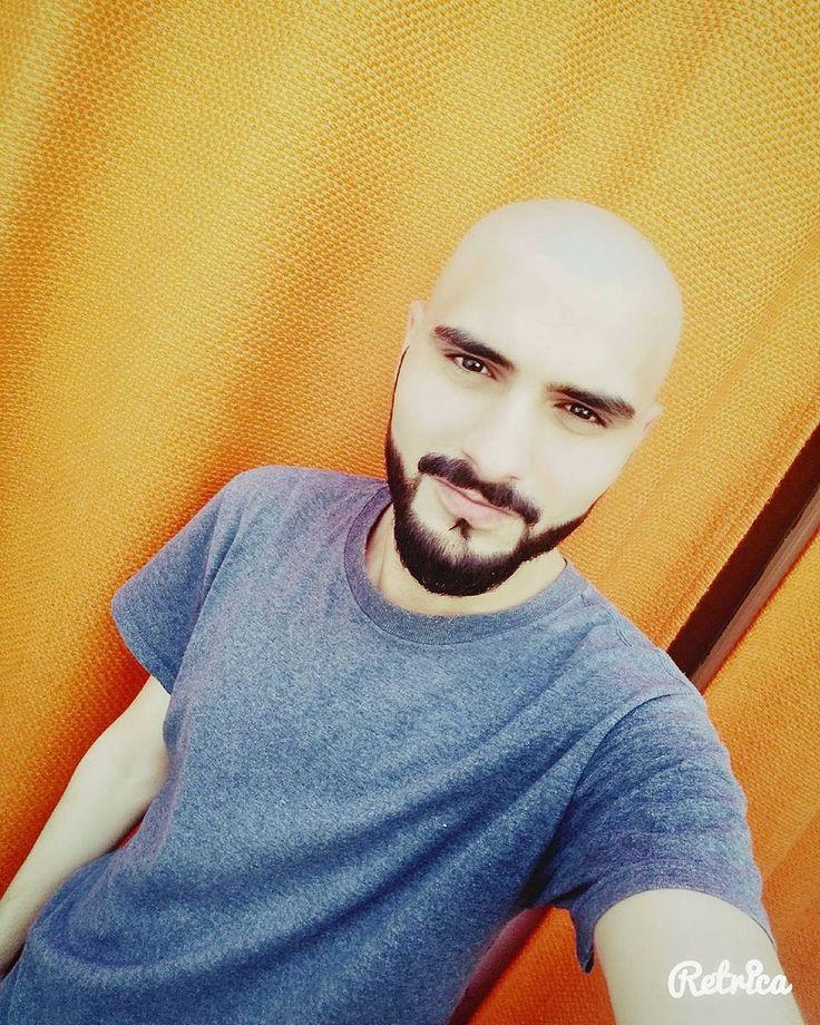 Bald Head Round Shaved