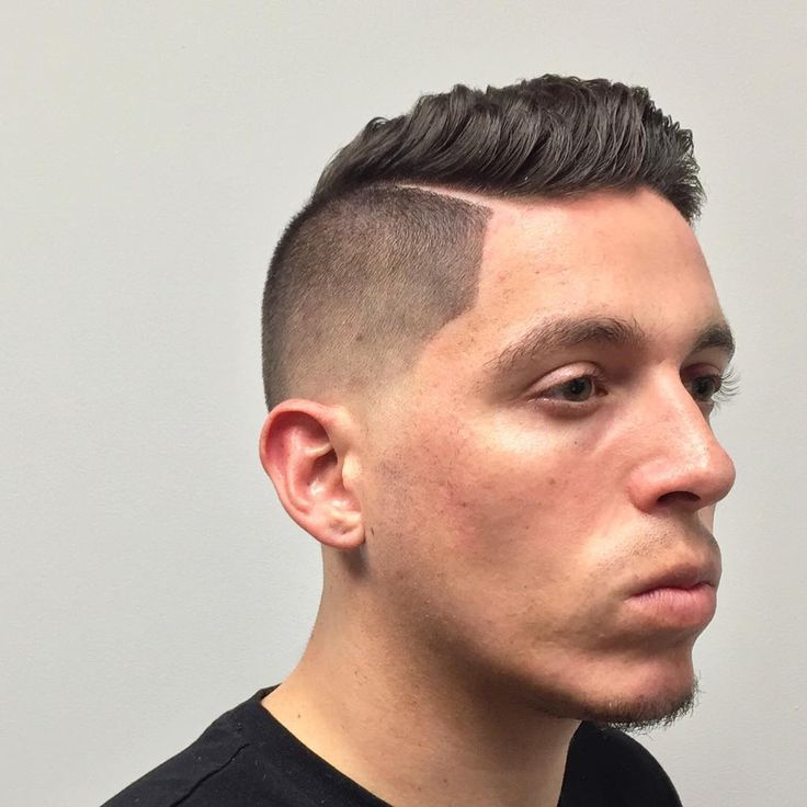 Snappy dapper hairstyle