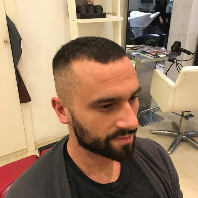 Serve and Protect Marine Haircut