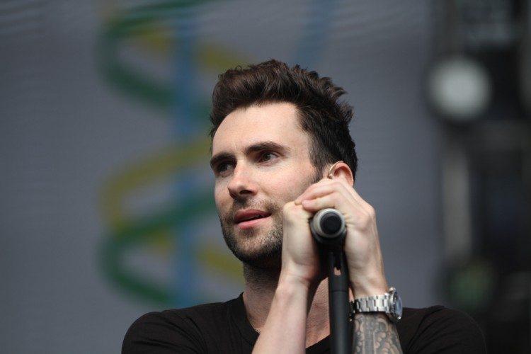 Adam Levine Undercut