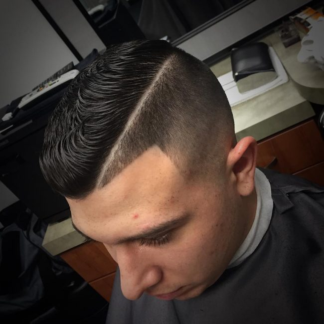 The all day dapper hair style