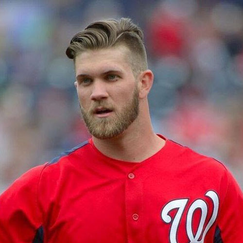 20 Best Bryce Harper Haircut How To Get Hair Like Bryce Harper