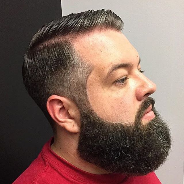 The bold blended dapper hairstyle