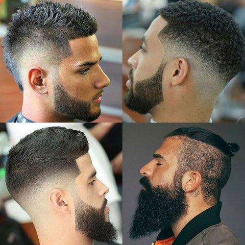Different Facial Hair Designs For Black Men