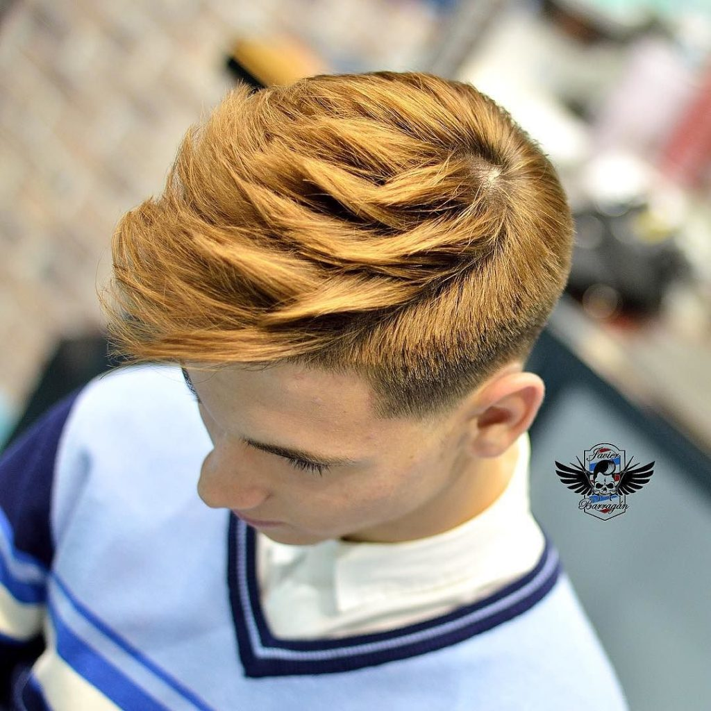 Sculpted and Textured Haircut