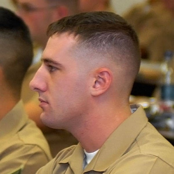 The Military Type Marine Haircut