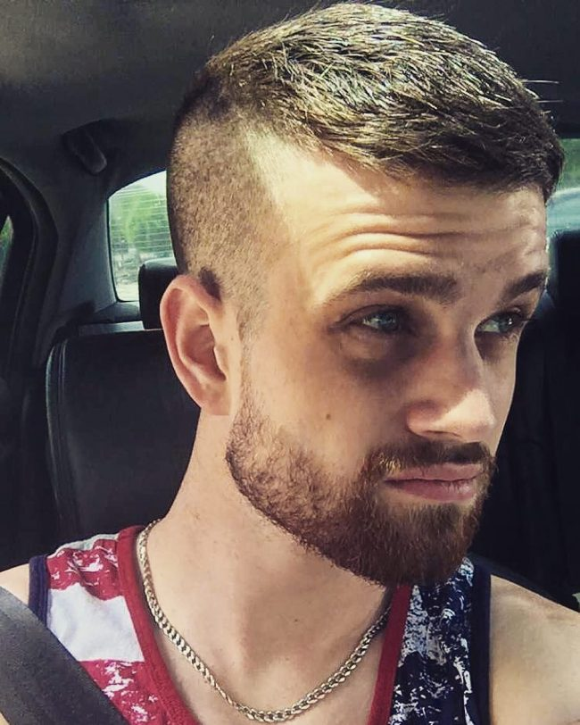 Marine Style High and Tight Haircut
