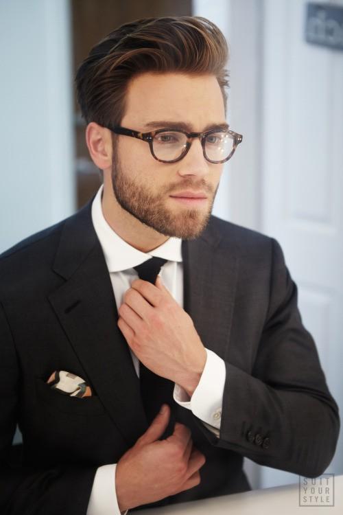 The modest beard style