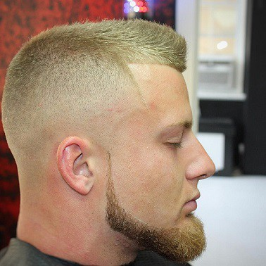 Chin strap with Goatee