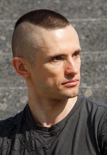 Reporting to Duty Marine Haircut